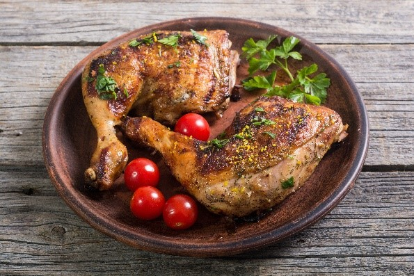 עוף בתנור וארטישוק