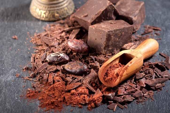 טחינה גולמית ושוקולד מריר